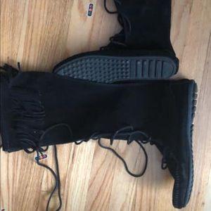 Minnetonka long boots